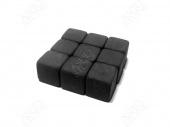 """Камни для виски 9шт-2см (Подарочный набор """"eco ICE STONE 9"""" + мешочек)"""