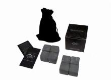 """Камни для виски 8шт-3см (Подарочный набор """"eco ICE STONE 8"""" + мешок)"""