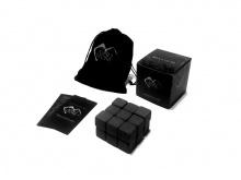 """Камни для виски 18шт-2см (Подарочный набор """"eco ICE STONE 18"""" + мешочек)"""