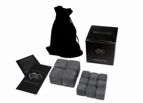 """Камни для виски 13шт - 2 и 3 см (Подарочный набор """"eco ICE STONE 4+9"""" + мешок)"""