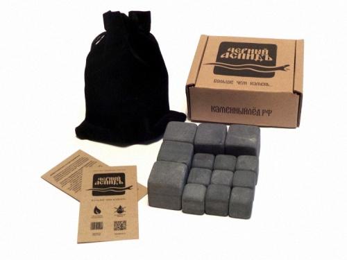 "Камни для виски 14шт - 2 и 3 см (набор ""XL Комбо"" + мешок)"